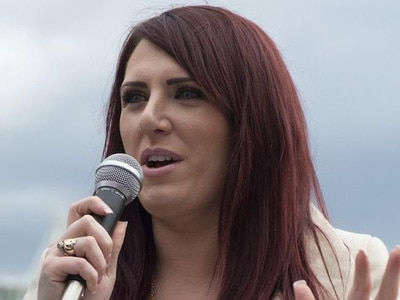 Far-right group's deputy leader charged with threatening and abusive language