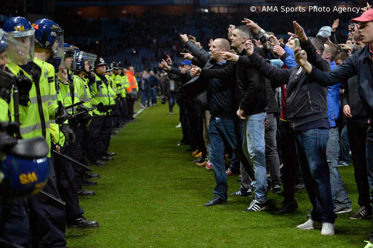 Arrests and pitch invasions mar Aston Villa's FA Cup victory over West Brom