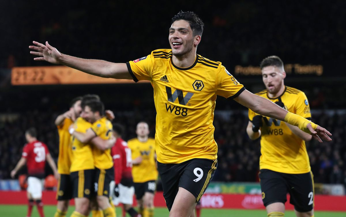 Raul Jimenez has joined Wolves for a club record £32m