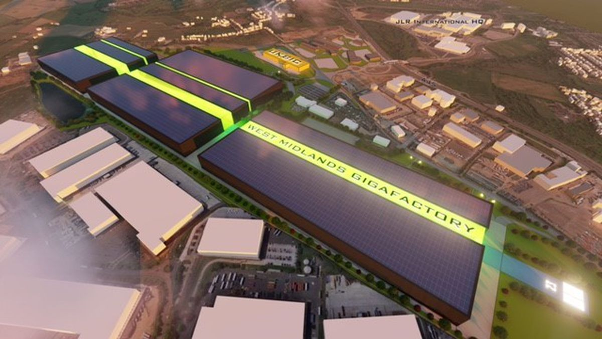 The gigafactory is planned for Coventry Airport and could be up and running by 2025