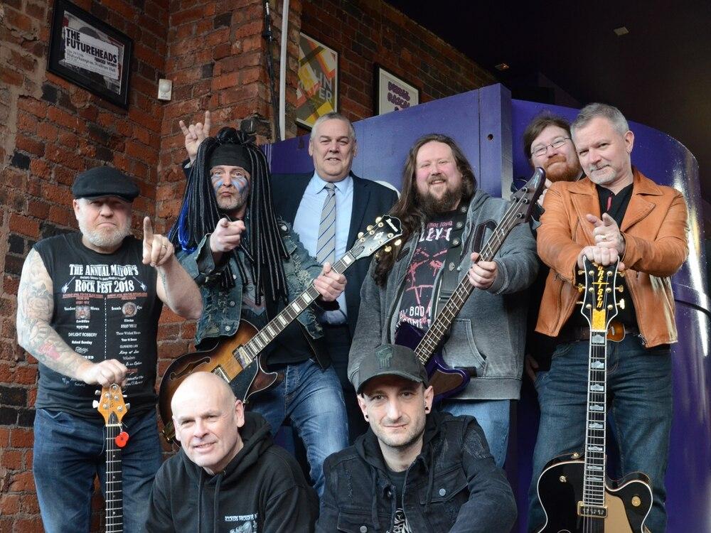 Wolverhampton to get rocking in memory of mayor Elias Mattu