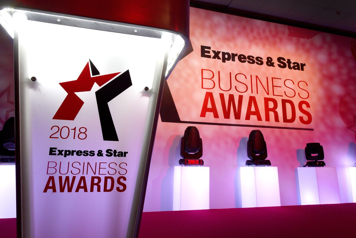 The Express & Star Business Awards were held at Wolverhampton Racecourse