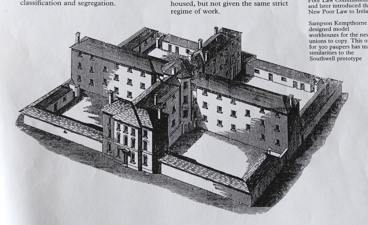Workhouse in West Bromwich
