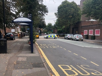 Police officer in 'serious' condition after Walsall hit-and-run