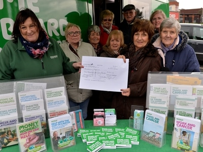 Thanks a lunch! Community group raises money for Macmillan