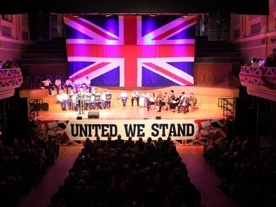 Ulster Hall event hears calls to resist Boris Johnson's Brexit 'betrayal act'