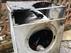 Severe tumble dryer fire rips through Walsall kitchen