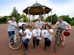 Wolverhampton charity clocks up miles for cash