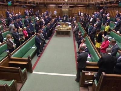 MPs observe minute's silence for Sri Lanka terror attack victims