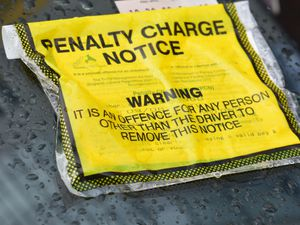 A parking ticket issued to a car by Coventry City Council. Penalty charge notices are rising. Picture: LDR Tom Dare.