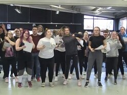 WATCH: South Staffordshire College students spread positivity in new music video