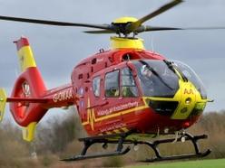 Man seriously injured in A41 crash