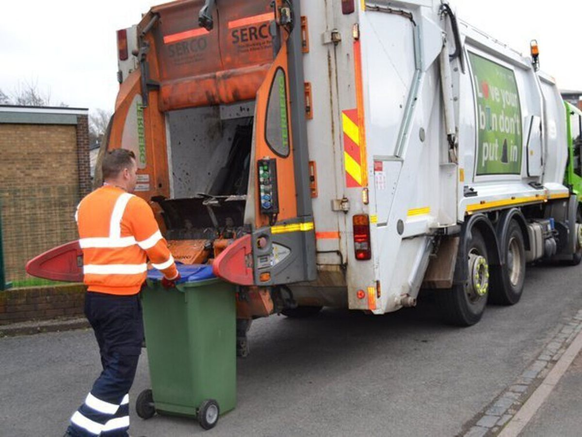 Some bin collectors have been going on strike in Sandwell