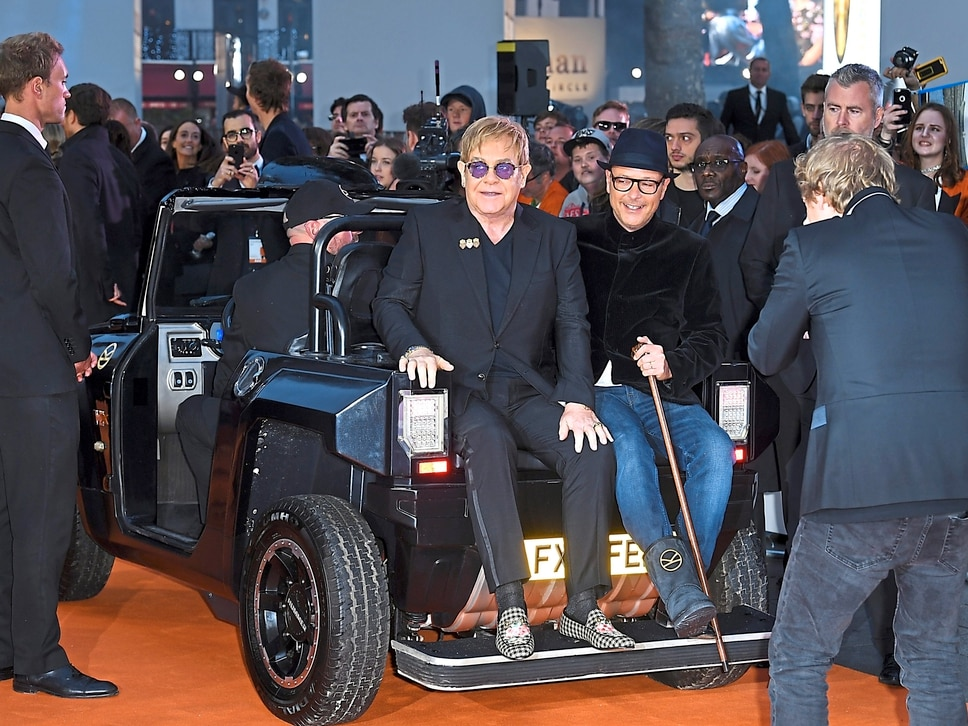 Kingsman: The Golden Circle - Hummer buggies take centre stage at world premiere