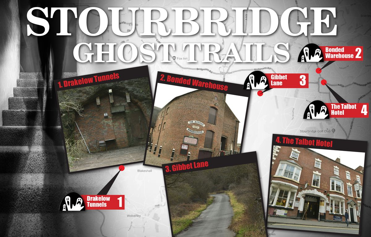 Find out more about the spooky goings-on on the Stourbridge ghost trail