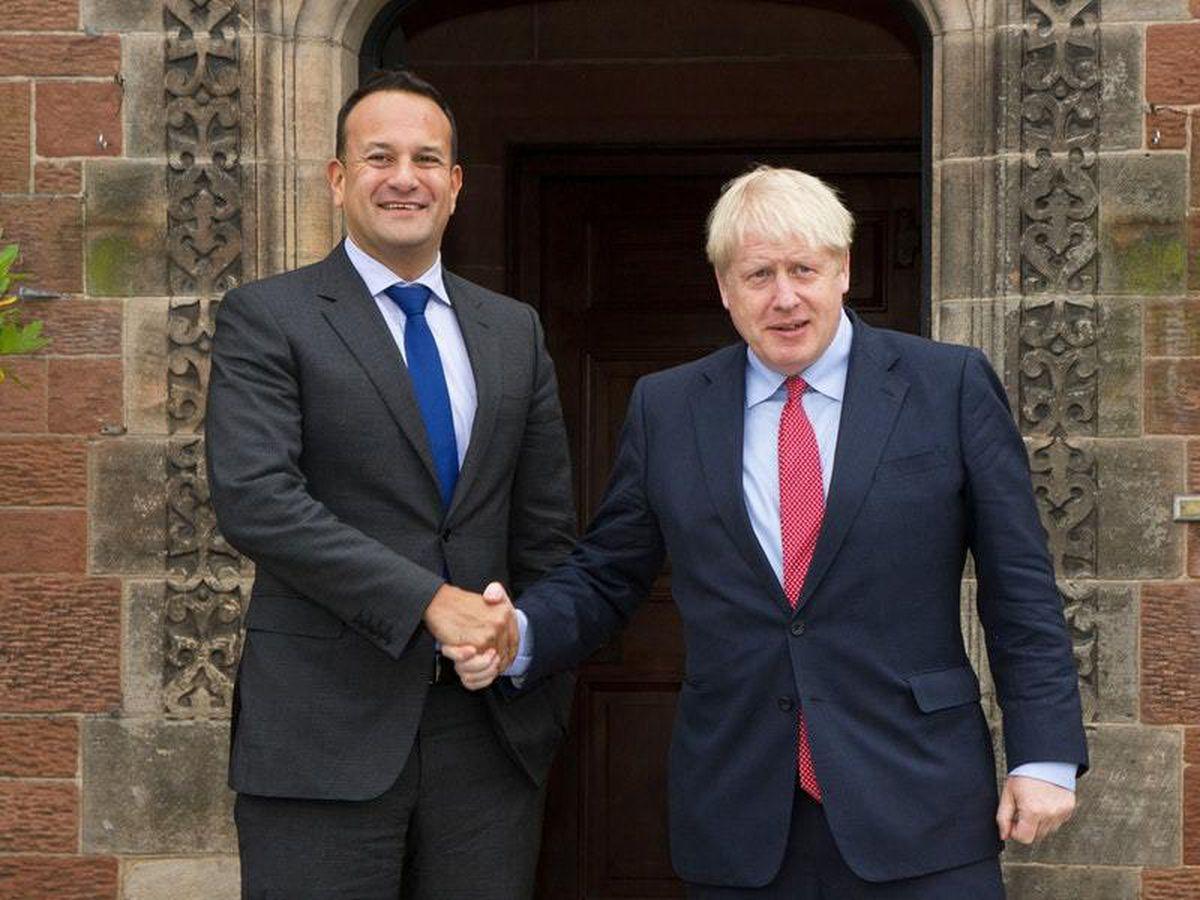 Leo Varadkar meets Boris Johnson