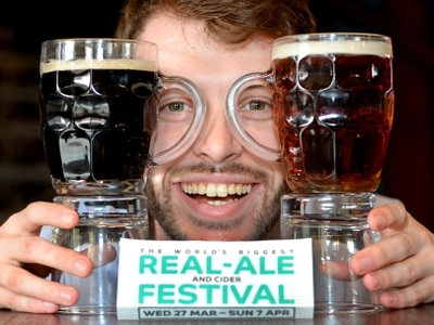 International beer on offer at ale festival