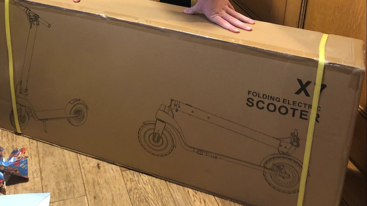 The scooter