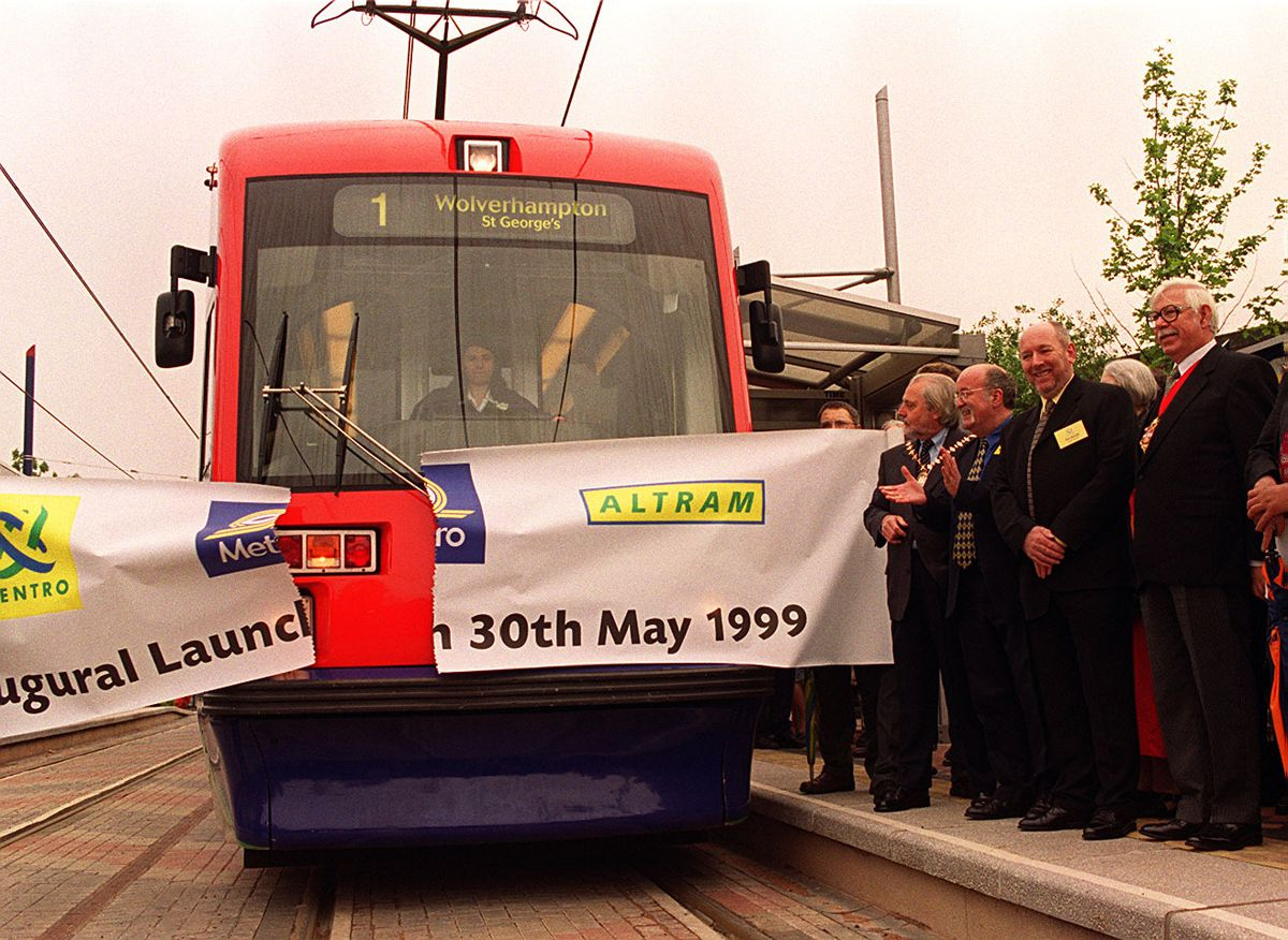 The first Metro to carry passengers on May 30 1999