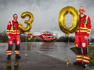 May 21 marks Midlands Air Ambulance Charity's official 30th anniversary
