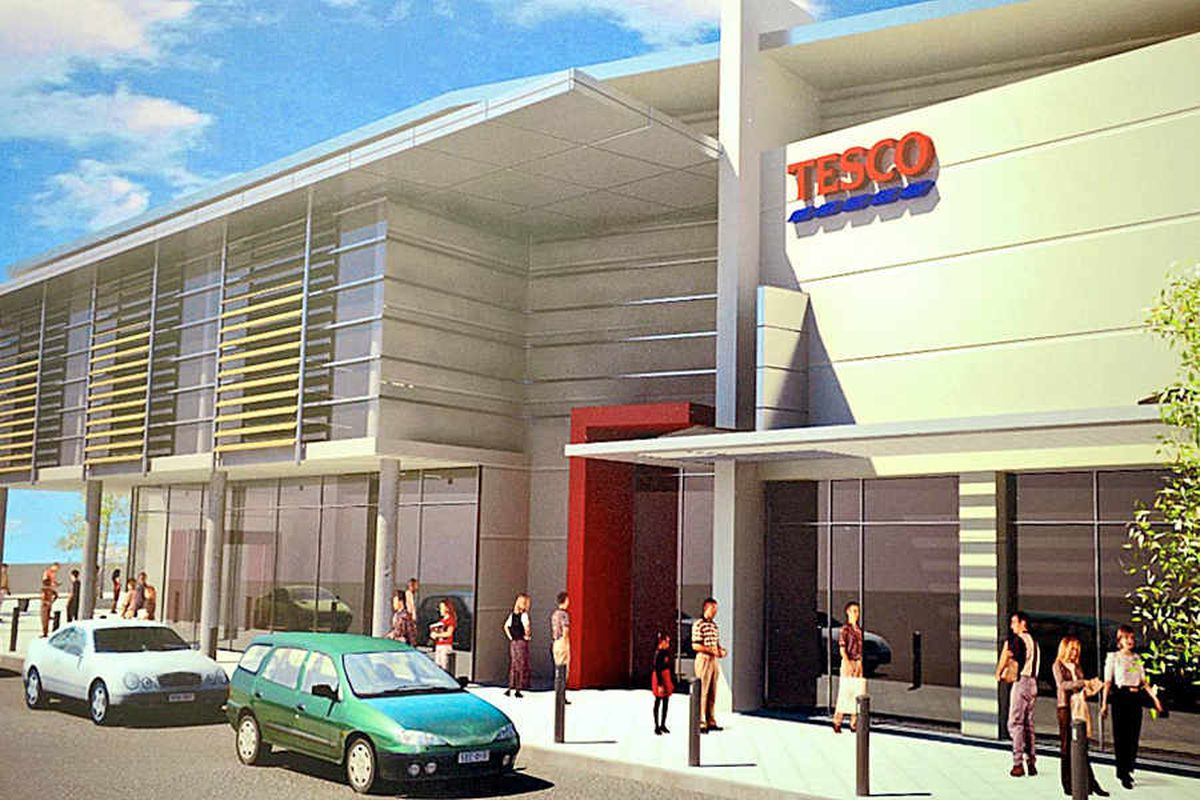 Collapse of Brownhills Tesco plans forces rethink