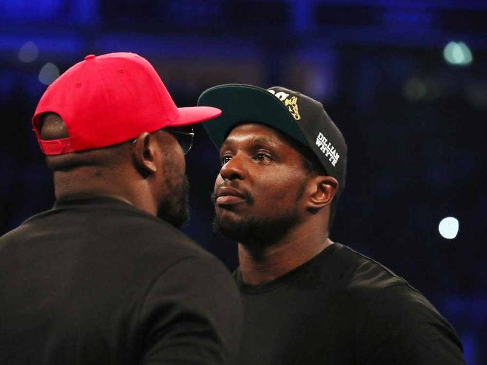 Whyte thinks Joshua rematch is 'only a matter of time'