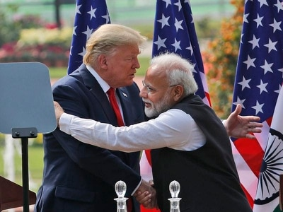 Trump signs military deal in India after visiting Gandhi memorial
