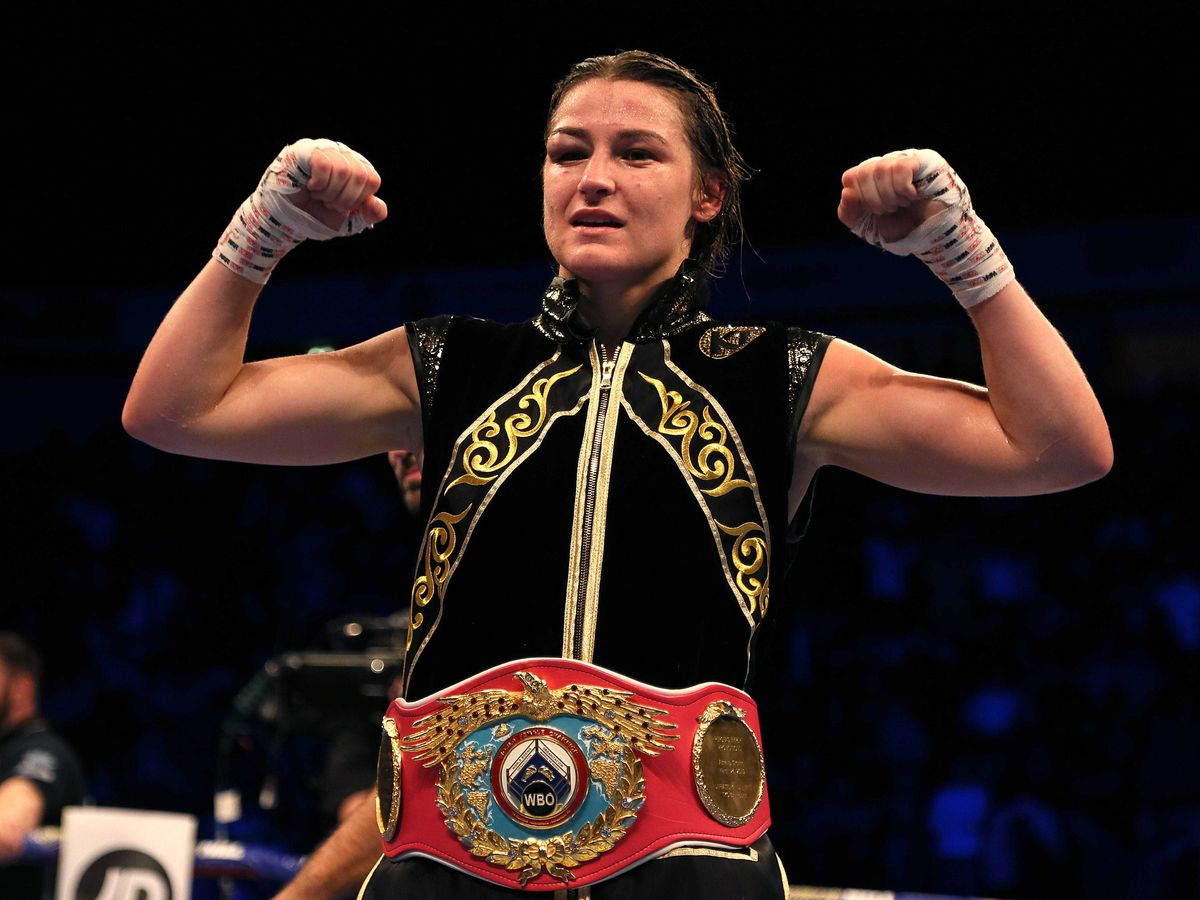 Katie Taylor is the undisputed world lightweight champion (Richard Sellers/PA)