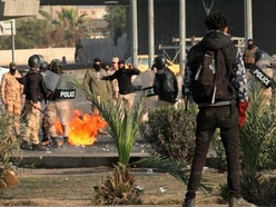 Three killed and dozens wounded in Baghdad protests