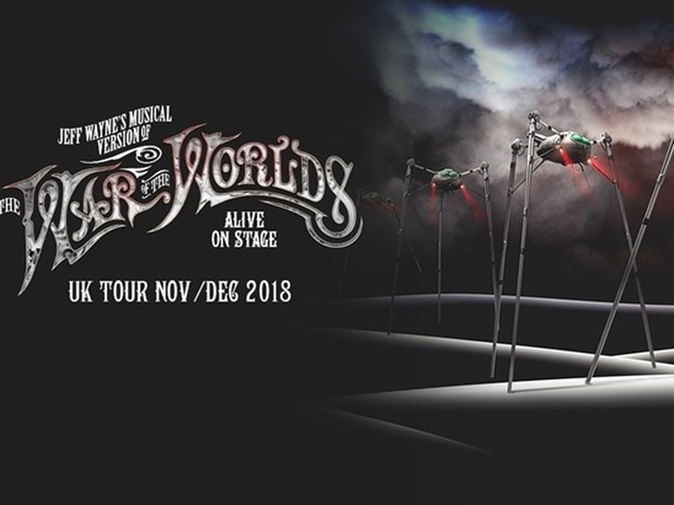 Jason Donovan, Liam Neeson, Carrie Hope Fletcher and more to appear in Jeff Wayne's The War of The Worlds coming to Birmingham