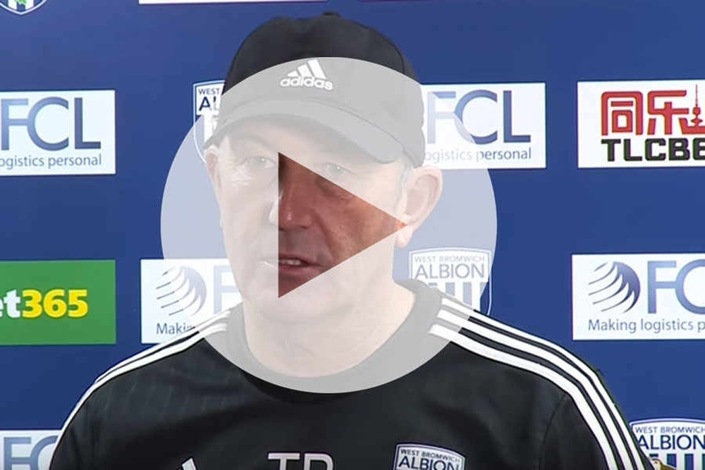WATCH: Tony Pulis and Darren Fletcher react to West Ham draw
