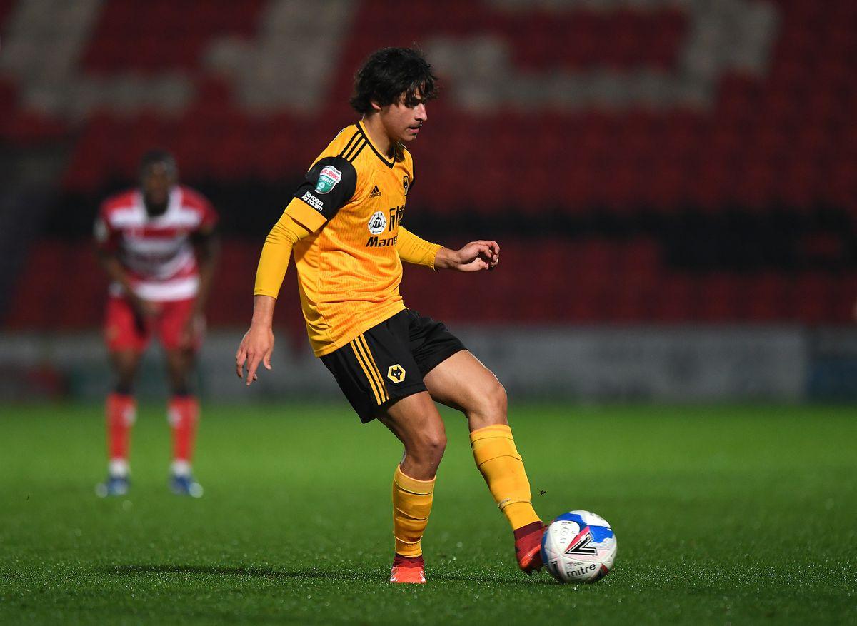 Hugo Bueno of Wolverhampton Wanderers.