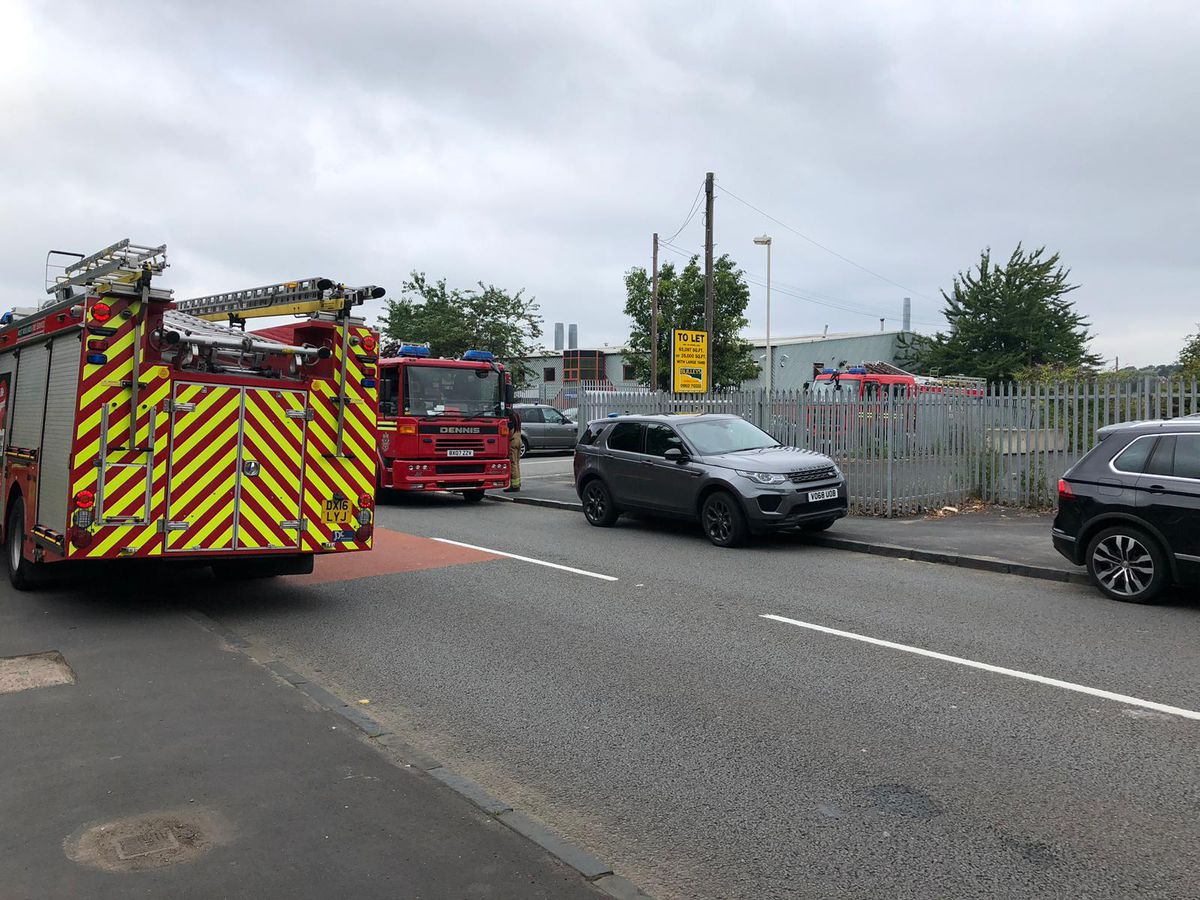 Crews have been dispatched to the fire in Rufford Street