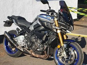 The stolen motorcycle