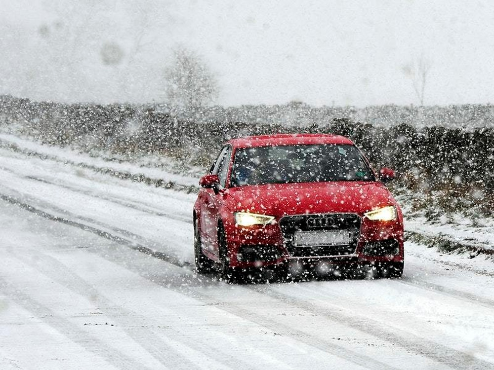 Snow warning for part of West Sussex