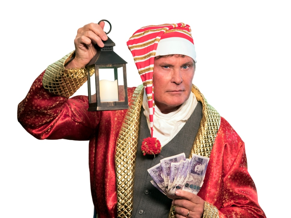 David Hasselhoff to star in Scrooge at Birmingham's Resorts World Arena