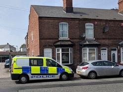 Police cordon off Tipton homes after man's death