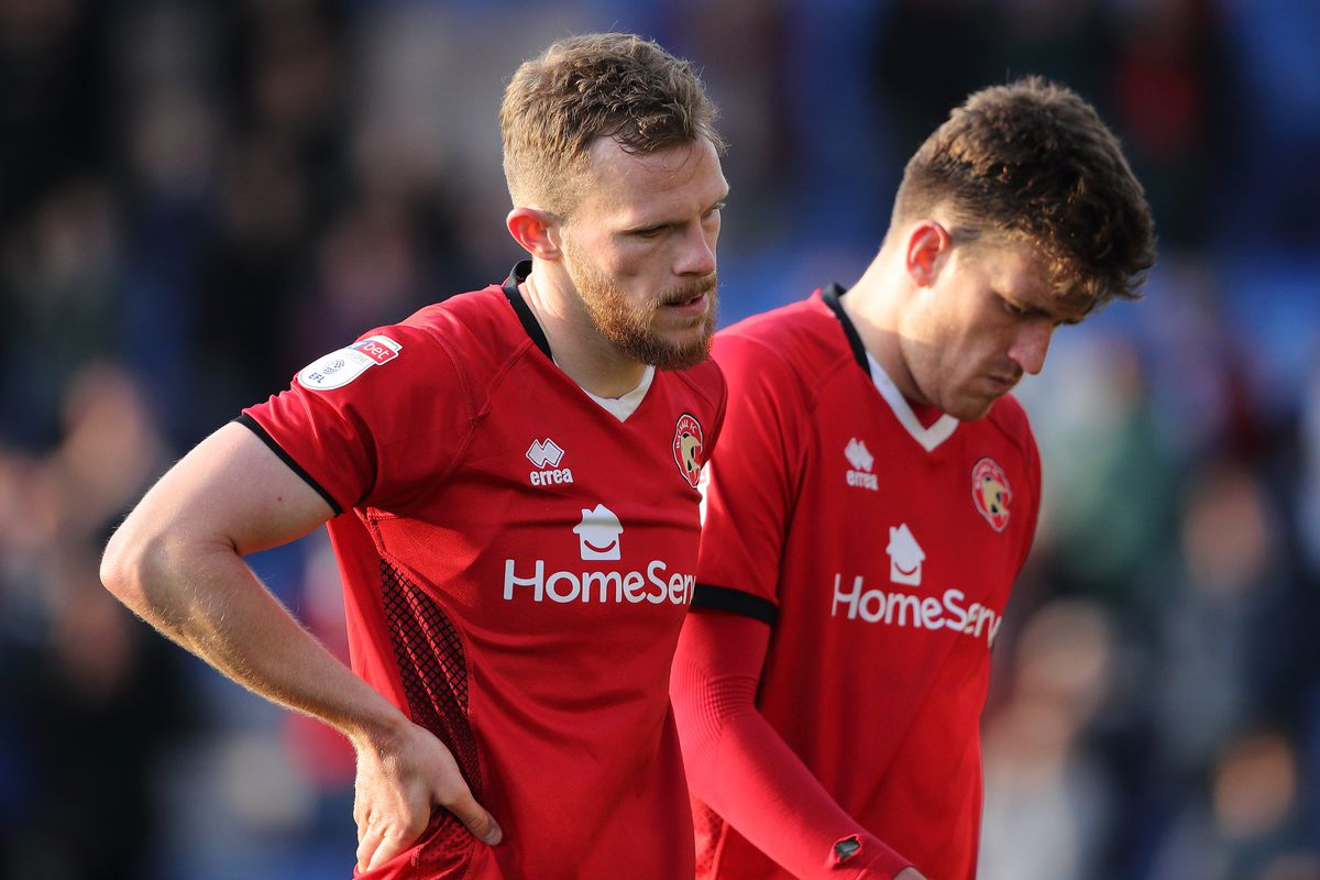 Walsall have been relegated to League Two (AMA)