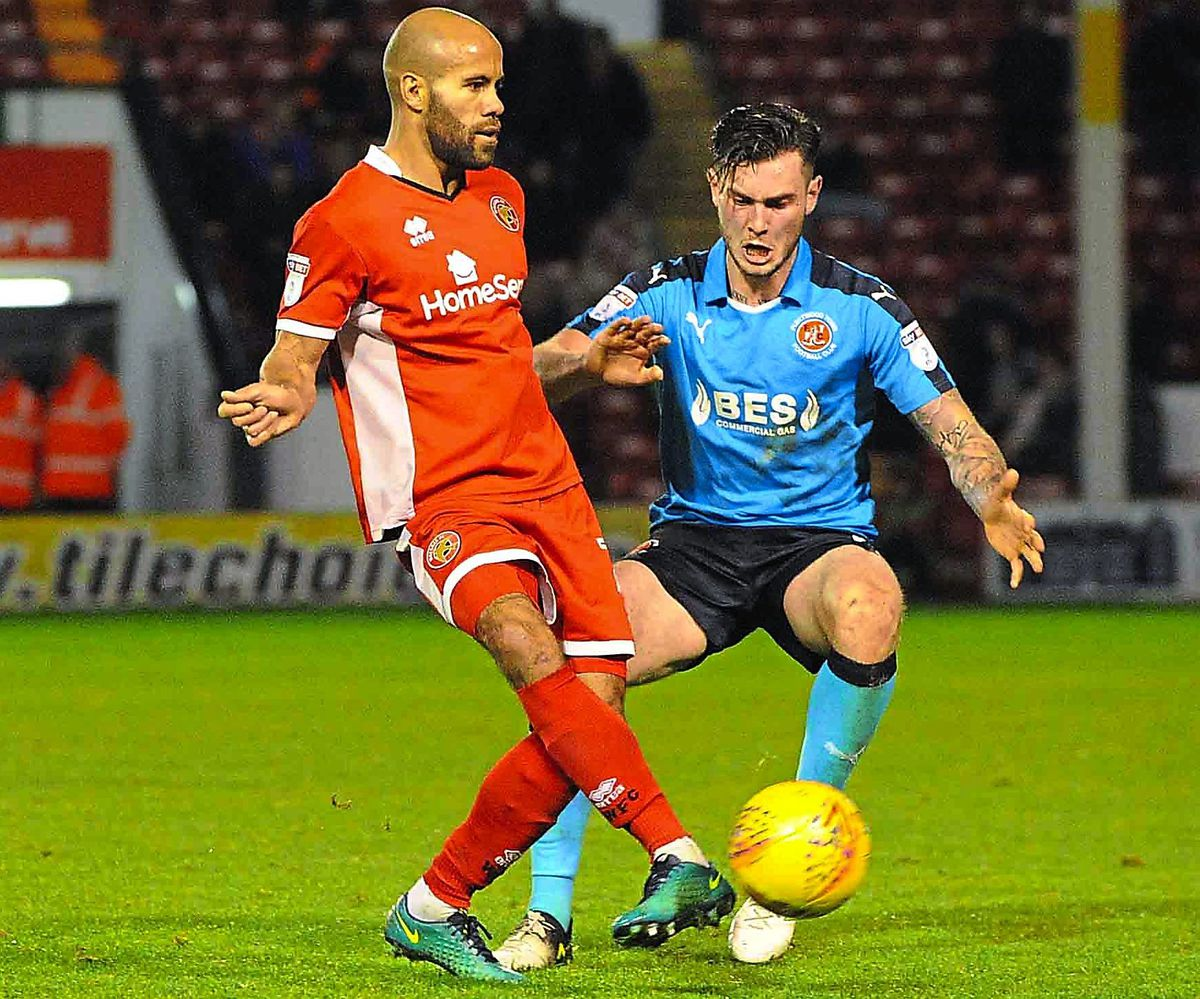 Adam Chambers says Walsall must not panic despite their league position