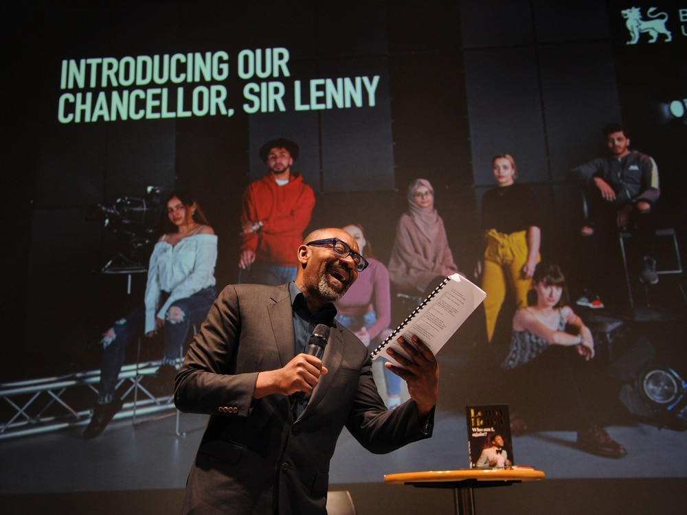 'It's not Dudley, but it'll do!!' Sir Lenny Henry delights fans at Birmingham book signing - with VIDEO and PICTURES