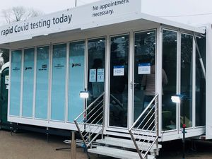 The mobile testing unit