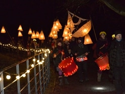 Lights shine bright at Shugborough's lantern parade - with PICTURES