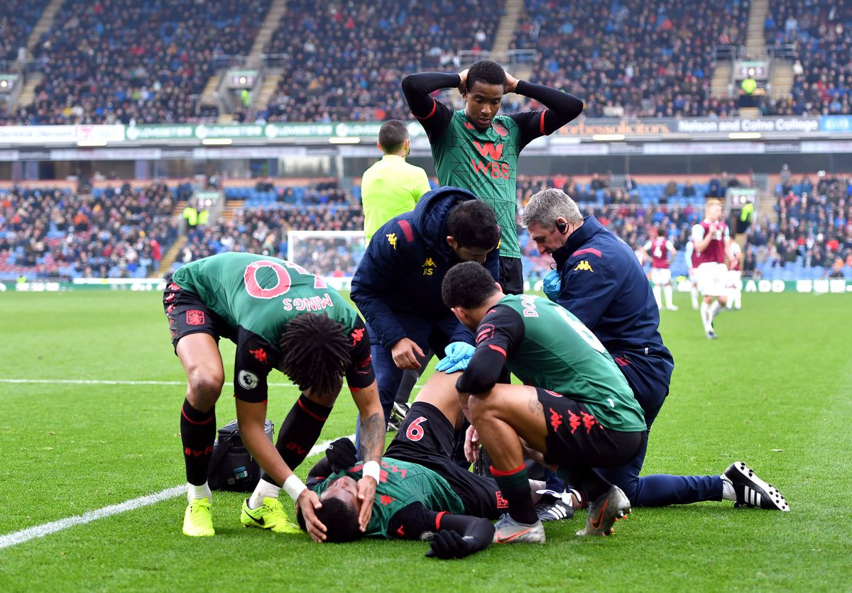 Wesley suffered a serious knee injury at Burnley on New Year's Day.