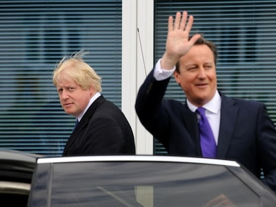 Boris Johnson asked if Michael Gove was 'a bit cracked', claims Cameron