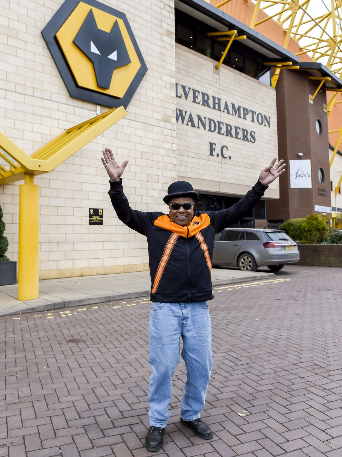 Tito was delighted to visit Molineux again. Photo: James Watkins