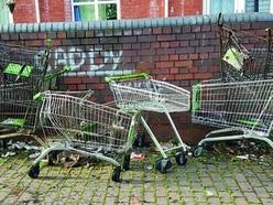West Midlands among worst for dumped trolleys