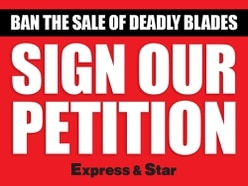 Ban the sale of deadly blades - sign our petition now