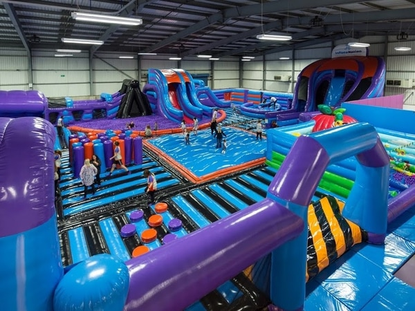 New inflatable theme park to open in West Bromwich