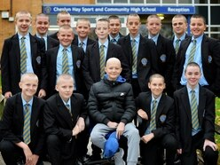 Team Tibbs! Friends shave to show Lucas support after leukaemia diagnosis