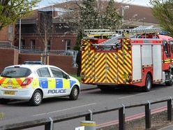 Man sectioned after white powder scare at Walsall Manor